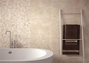 Cream bathroom tiles peenmediacom for Bathroom yiles