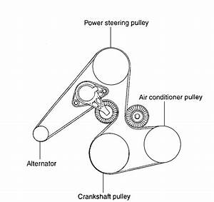2005 Duramax Serpentine Belt Diagram