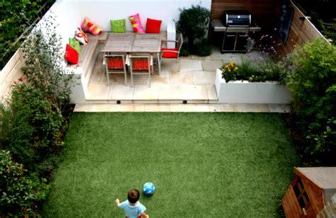 small garden design ideas with cool outdoor living