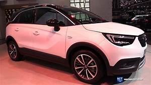 Opel Crossland 2018 : 2018 opel crossland x turbo exterior and interior walkaround 2017 geneva motor show youtube ~ Medecine-chirurgie-esthetiques.com Avis de Voitures