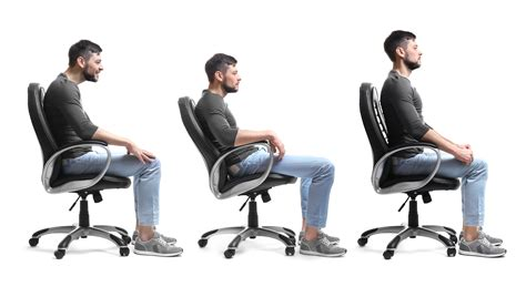 Gesund Sitzen by American Posture Institute Slouched Sitting Makes You