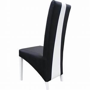 Table 160 cm 4 chaises lina table pour salle a manger for Meuble salle À manger avec chaise noir et blanche