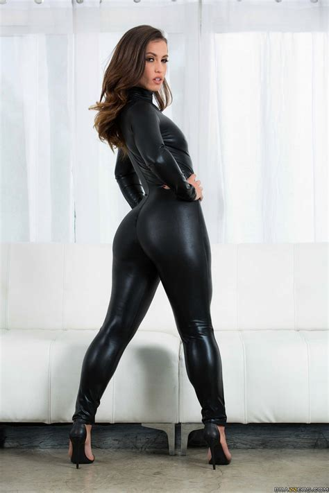 porn star Kelsi Monroe latex catsuit | Candid Shiny