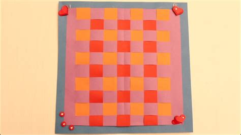 learn paper weaving youtube