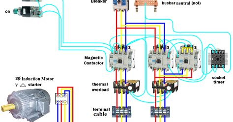 electrical page d o l starter motor wiring diagram