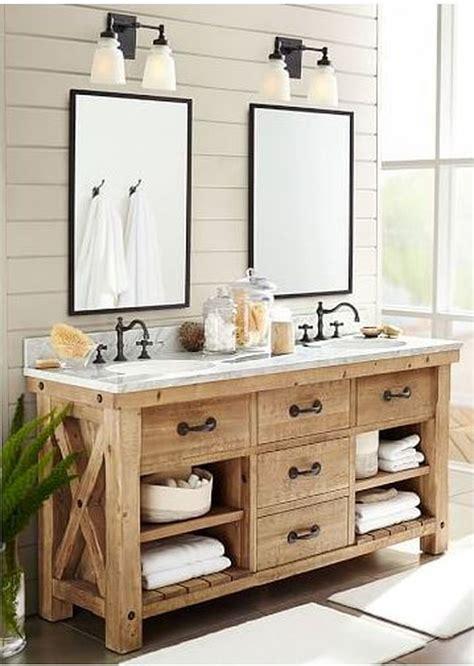 rustic farmhouse style bathroom design ideas  hoommycom