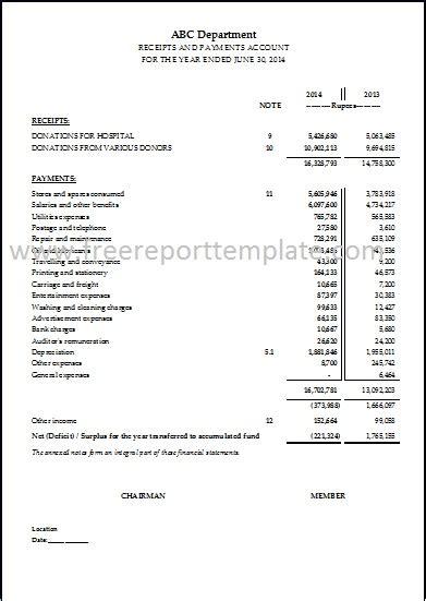 p l template income statement p l statement template free report templates