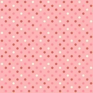 Background Scrapbook Pink PolkaDots Free Stock Photo ...