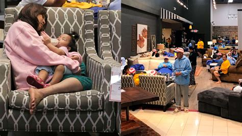 furniture stores open  people    shelter