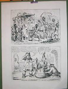 James Gillray  U0026quot Promised Horrors Of French Invasion