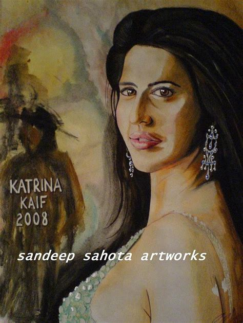 katrina kaif painting  san art studio