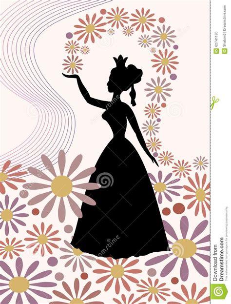 Victorian Silhouette Woman Profile