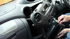 How To Remove Toyota Yaris Head Unit Cd Player