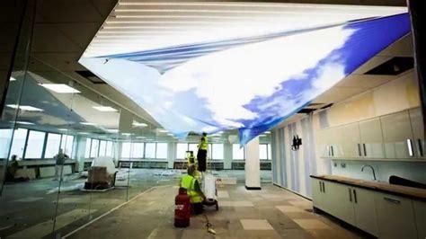 barrisol print ceiling youtube