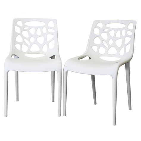 Stuhl Weiss Design by How To Taking Care Of White Plastic Chairs Midcityeast