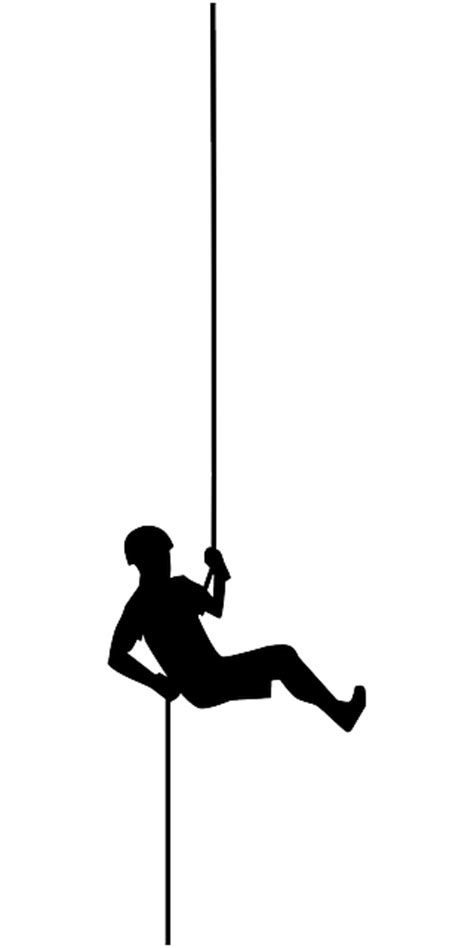 Rappelling Abseiling Abyss · Free vector graphic on Pixabay