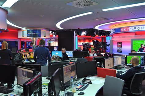 production studios sky sport news studio  productiontv