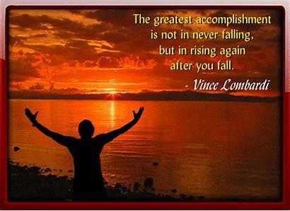 Quotes Accomplishment Inspirational Greatest Encouragement Inspiration Card