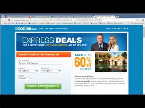 how to score cheap hotels priceline the ultimate guide youtube