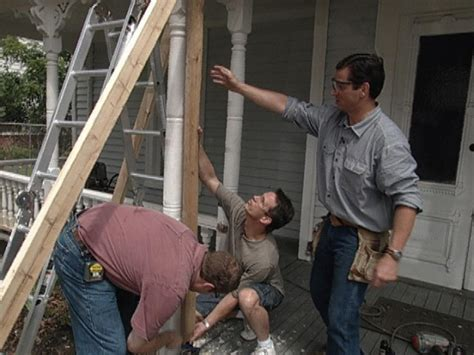 How To Remove And Brace A Rotting Porch Column  Howtos Diy