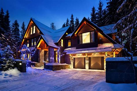 whistler luxury chalets and vacation rentals with vip chalet services