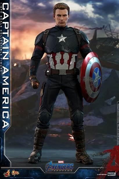Captain Endgame America Toys Avengers Figure Evans