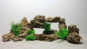 Aquarium Deko Steine : aquarium deko natursteine drachenstein in braun aquaristik dekoration natursteine ~ Frokenaadalensverden.com Haus und Dekorationen