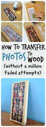 easy diy picture transfer projects