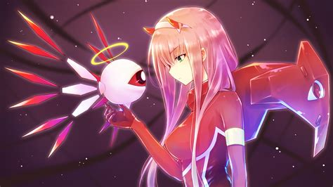 Anime Wallpaper 3840x2160 - 3840x2160 wallpaper anime robot zero two
