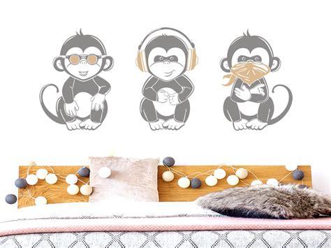 Wandtattoo Kinderzimmer Affen by Wandtattoo Coole Affen Wandtattoos De