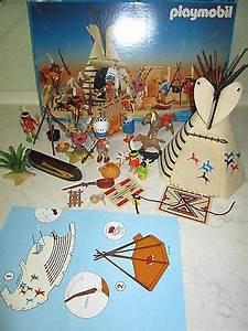 Zelt Der Indianer : playmobil 3733 indianer zelt tippi kanu western dorf mit ~ Watch28wear.com Haus und Dekorationen