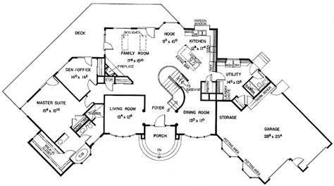 love   shape    inlaws  house  garage house plans house plans