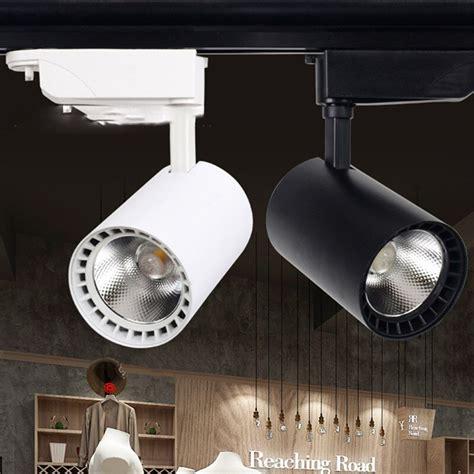 simple led spotlight tracking light clothing store 20w