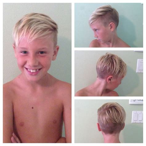 boys haircut child undercut hair by mackenzie pinterest