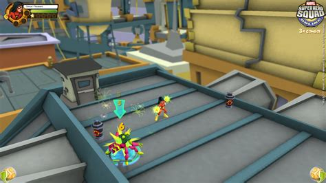 Check Out The Heroes In Marvel Super Hero Squad Online
