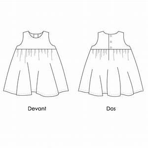 patron couture bebe robe chasuble atelier des cigognes With robe 18 mois