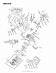 Oregon Honda Parts Diagram For Honda Gx160