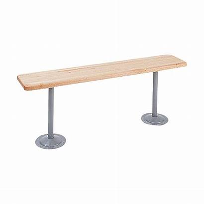 Locker Bench Pedestal Benches Steel Hardwood