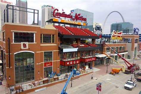 awaited ballpark opens on thursday will it be a hit on non days st louis