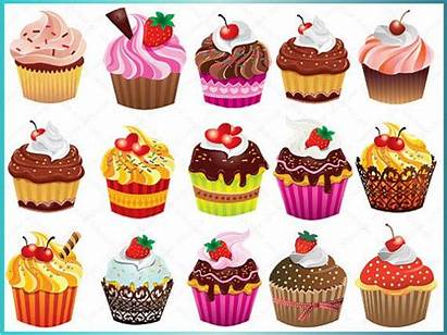 Cupcake Clipart Cupcakes Clip Cake Bakery Digital