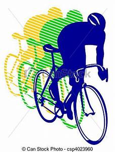 Bicycle Racing Clipart