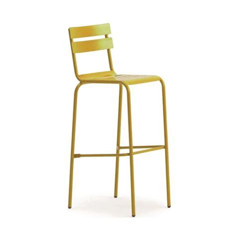 chaise m tallique chaise haute metallique empilable galvanise de couleurs
