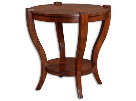 Uttermost Bergman 30 Round End Table
