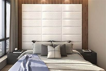 Headboard Panels Upholstered Leather Accent Removable Queen