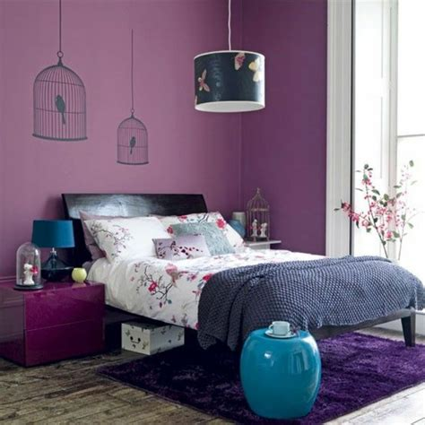 peinture prune chambre 80 idées d 39 intérieur pour associer la couleur prune