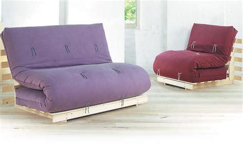 canapé futon banquette lit avec matelas futon