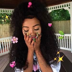 Resultado de imagem para baddie tumblr   Hdn   Pinterest   Curly Black girls and Black girl magic