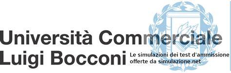 Simulazione Test D Ingresso Giurisprudenza by Simulazione Test Ammissione Luiss Bocconi Simulazione Net