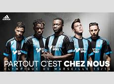 Olympique Marseille Unveils 201516 Away Kit – Soccer365