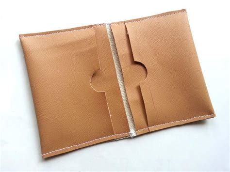 diy faux leather wallet diyideacentercom